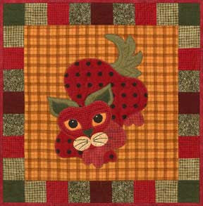StawPurry - Garden Patch Cats  Pattern - StoryQuilts.com