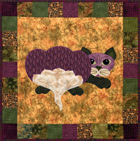 Rutabaga Catta - Garden Patch Cats  Pattern - StoryQuilts.com