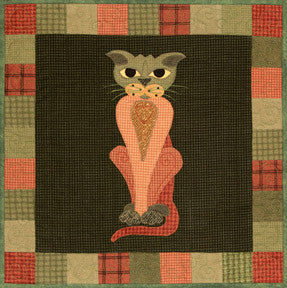 Purrsnip- Garden Patch Cats  Pattern - StoryQuilts.com