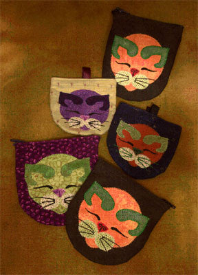 Kitty Coin Purse  Pattern - StoryQuilts.com
