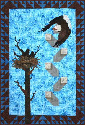 Sky Dwellers  Pattern - StoryQuilts.com