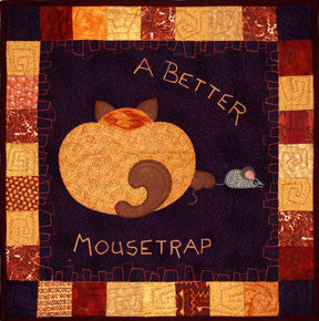 A Better Mouse Trap  Pattern - StoryQuilts.com