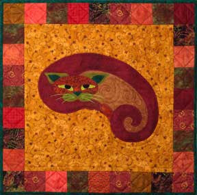 Kitt'ney Bean - Garden Patch Cats  Pattern - StoryQuilts.com