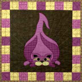 Walla Walla Kitty - Garden Patch Cats  Pattern - StoryQuilts.com