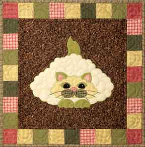 Caulipuss - Garden Patch Cats  Pattern - StoryQuilts.com
