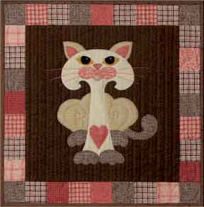 Mushkit- Garden Patch Cats  Pattern - StoryQuilts.com