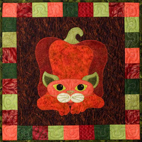 Pepper Puss - Garden Patch Cats  Pattern - StoryQuilts.com