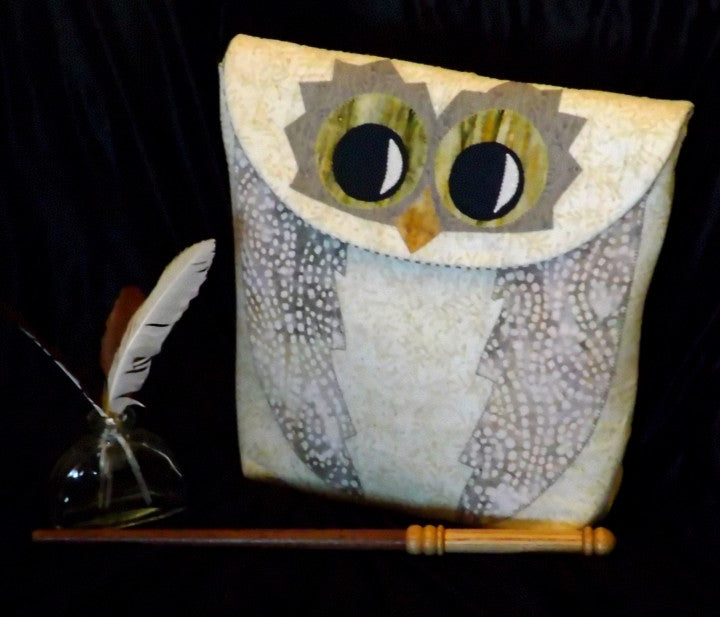 Owl Satchel  Pattern - StoryQuilts.com