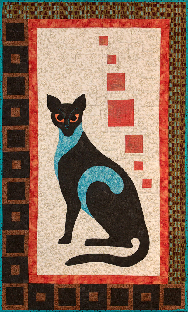 Dignity - Posh Cats  Pattern - StoryQuilts.com