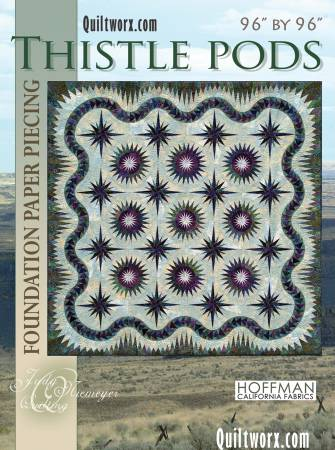 Thistle Pods Pattern  Pattern - StoryQuilts.com