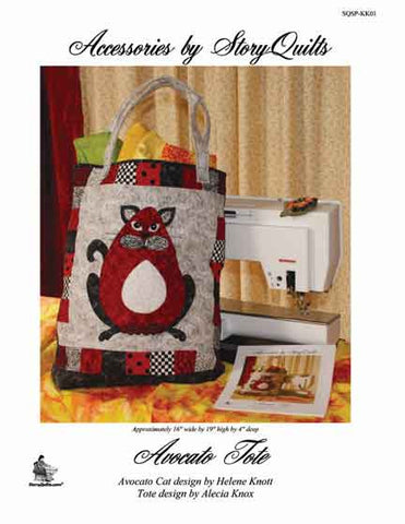 Avacato Tote  Pattern - StoryQuilts.com
