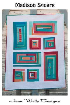 Madison Square  Pattern - StoryQuilts.com