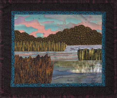 Serene Marsh  Pattern - StoryQuilts.com