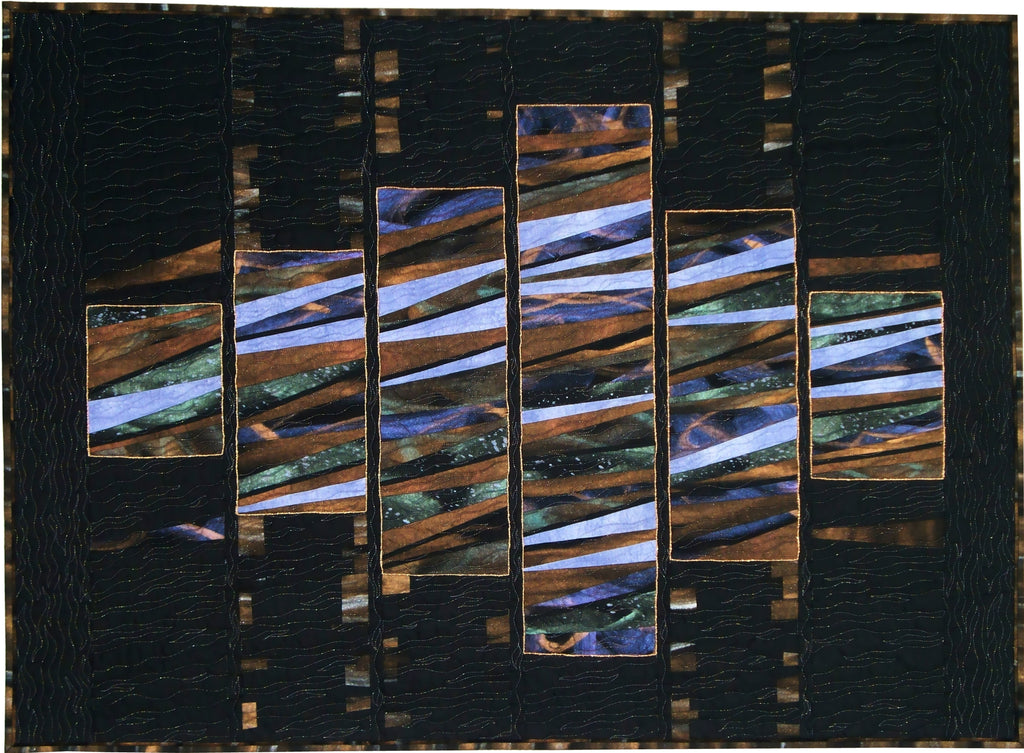 Moonlit Reflections  Pattern - StoryQuilts.com