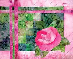 Morning Rose  Pattern - StoryQuilts.com