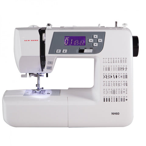 New Home Computerized Sewing Machine - Model NH60  Sewing Machine - StoryQuilts.com