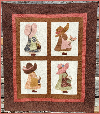Old Fashioned Girls  Pattern - StoryQuilts.com