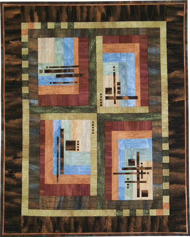 On Terra Firma  Pattern - StoryQuilts.com