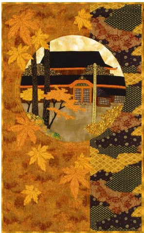 Postcards from Japan -Courtyard Sanctuary  Pattern - StoryQuilts.com