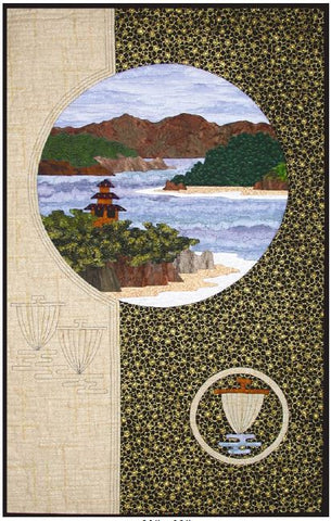 Postcards from Japan - Inland Sea  Pattern - StoryQuilts.com