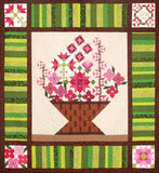 Pick a Peck of Posies - Complete Set  Pattern - StoryQuilts.com