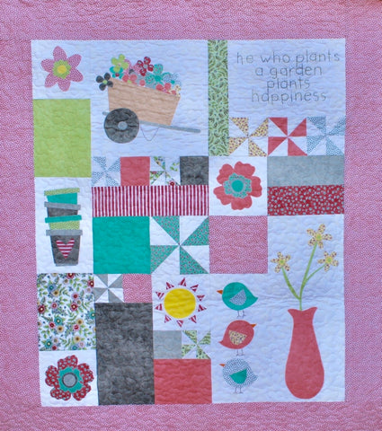 Plant a Garden by Meags and Me  Pattern - StoryQuilts.com