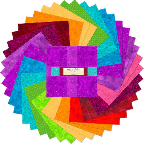 10 in Squares Magic Colors 42 pcs per bundle