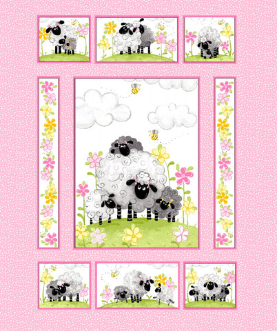 Pink Lal the Lamb Panel