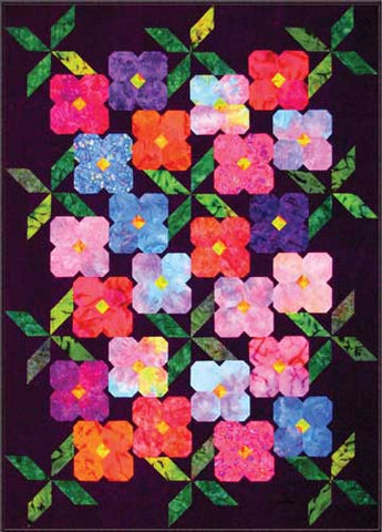 Night Garden  Pattern - StoryQuilts.com