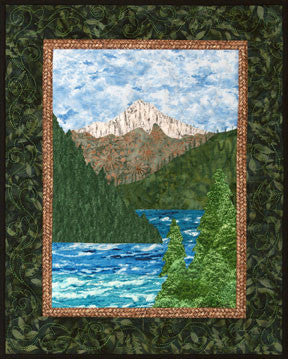 Mount Hood  Pattern - StoryQuilts.com