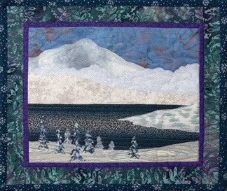 Alpine Lake  Pattern - StoryQuilts.com