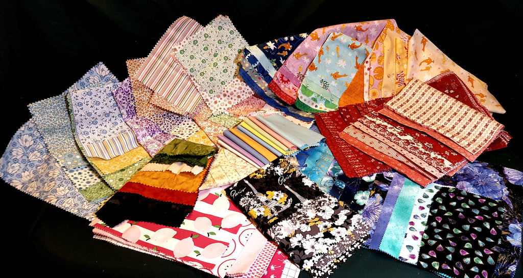 Fabric Sampler - 10 generous yards of fabric  Fabric - StoryQuilts.com
