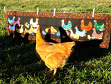 Jana's Chickens  Pattern - StoryQuilts.com