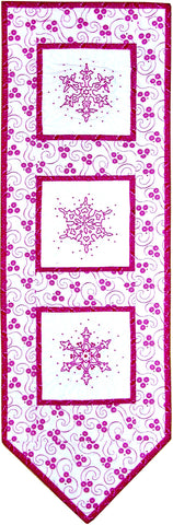Snowflake Banner  Pattern - StoryQuilts.com