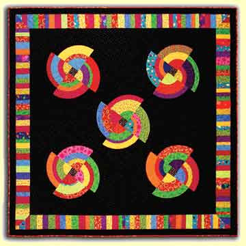 Spinners  Pattern - StoryQuilts.com