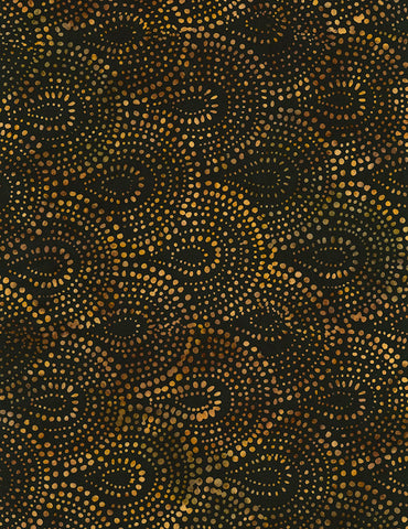 Timeless Treasures Nutmeg Tonga Batiks Henna Batik  Fabric - StoryQuilts.com
