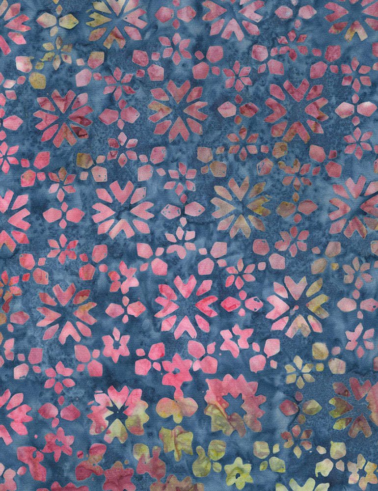 Timeless Treasures Tonga Orchid Batiks Tropic Buds - Laguna  Fabric - StoryQuilts.com