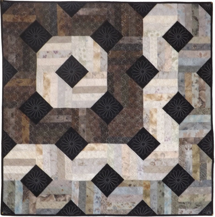Tranquility  Pattern - StoryQuilts.com