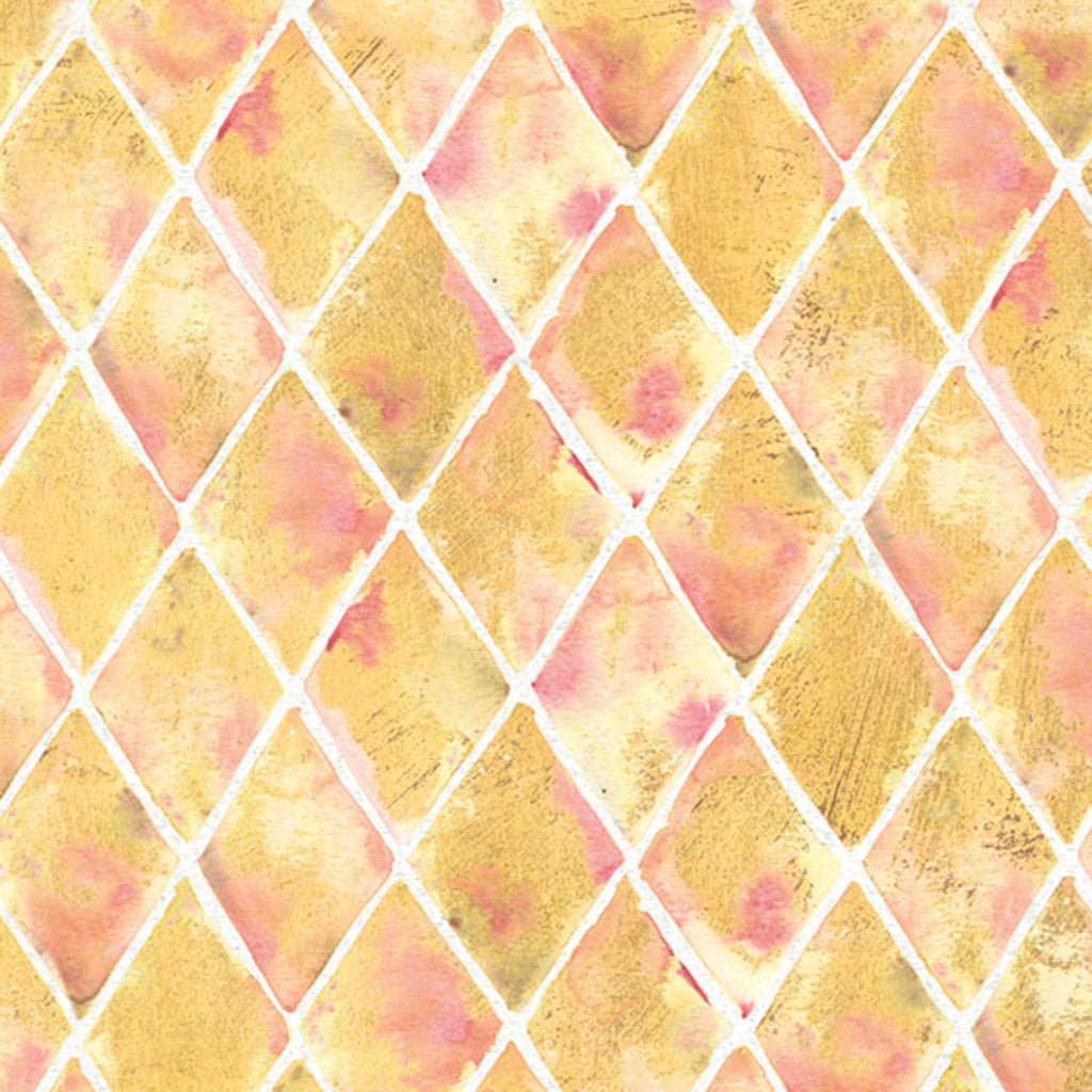 Gold/Yellow Pineapple  Fabric - StoryQuilts.com