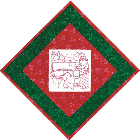 King Wenceslas & Tannenbaum  Pattern - StoryQuilts.com