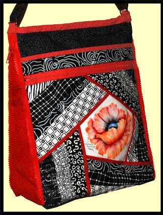 Zip It! Handbag pattern  Pattern - StoryQuilts.com