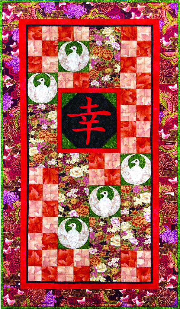 Good Fortune  Pattern - StoryQuilts.com