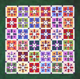 Snowflower  Pattern - StoryQuilts.com