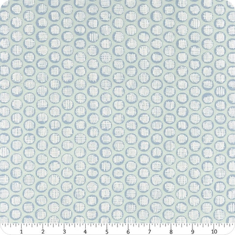 Winter Shimmer Sky - Dots  Fabric - StoryQuilts.com