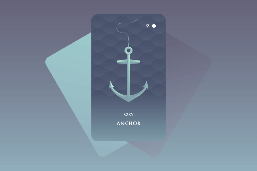 The Anchor Lenormand Card Meaning and Combinations