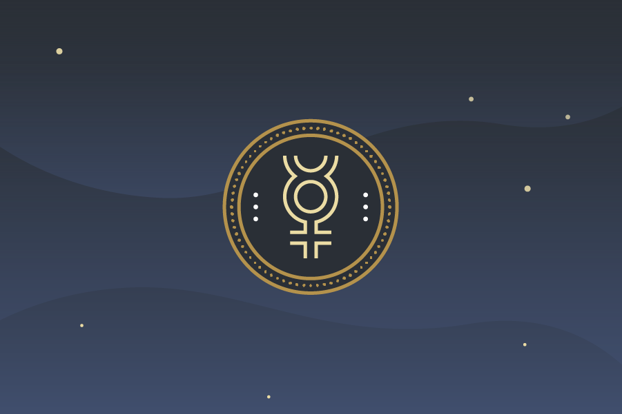 Mercury Astrology Symbol - Characteristics, Planet Energy