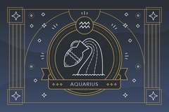 The Zodiac Sign Aquarius Symbol - Personality, Strengths, Weaknesses