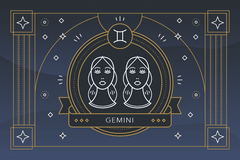 The Zodiac Sign Gemini Symbol - Personality, Strengths, Weaknesses