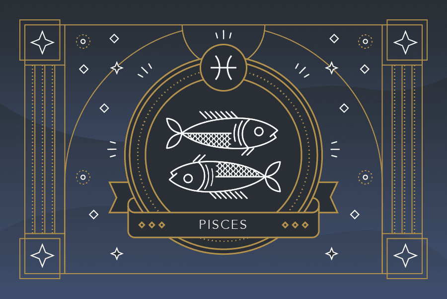 The Zodiac Sign Pisces Symbol - Personality, Strengths