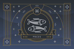 The Zodiac Sign Pisces Symbol - Personality, Strengths, Weaknesses